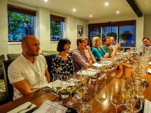 Jura tasting dinner in Australia