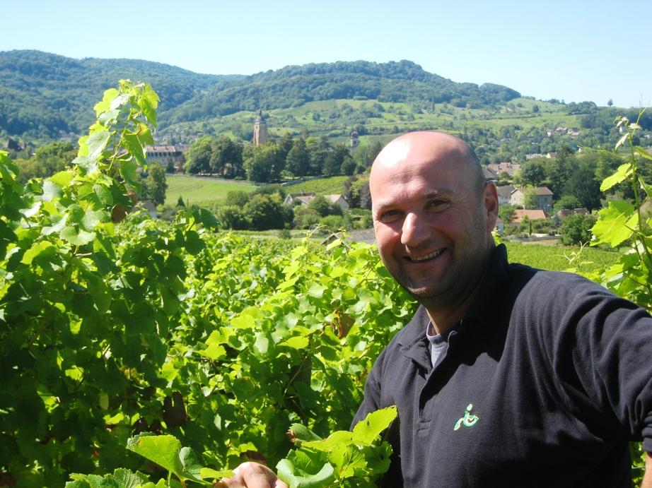 Stéphane Tissot in Arbois, Jura