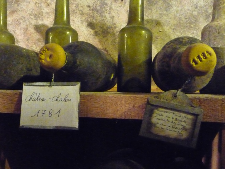 Very old Château Chalon