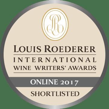 Wink Lorch wine writing award